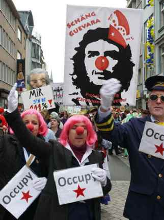 Zoch vor'm Zoch - Photo Occupy Cologne