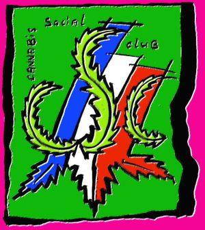 Cannabis Social Clubs Français (Logo der Facebook-Seite)